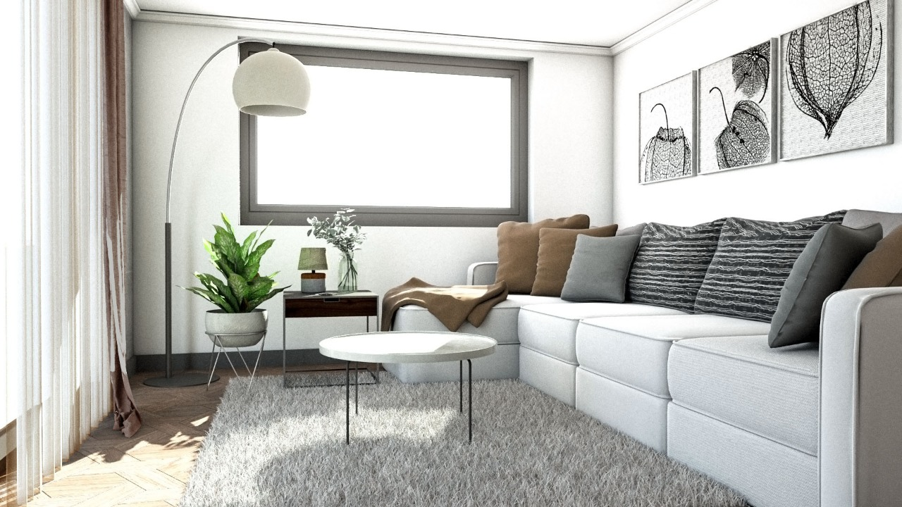 Internal Living Room Visualisation