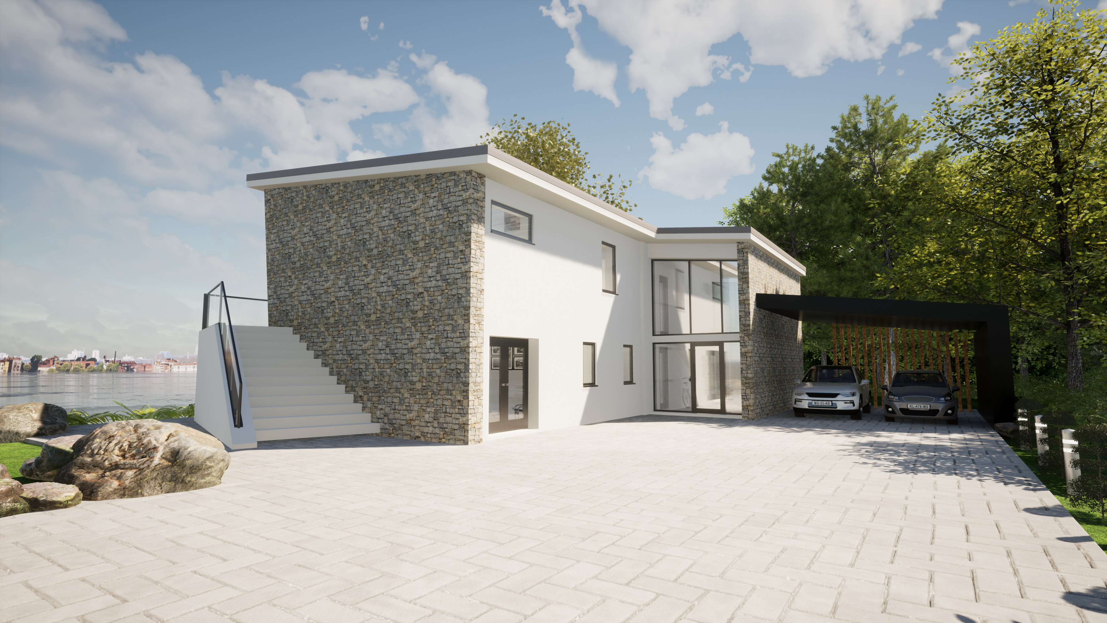 Bourdeau, France – Residential Project